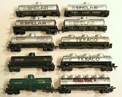 $ CDN14.48 • Buy Train Wreck Lot Of 10 HO Scale Tank Cars / Missing Parts / For Restoration