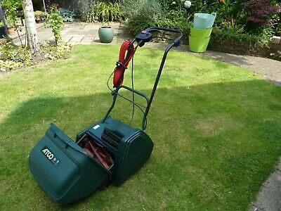 £5 • Buy Lawnmower. Atco Windsor 14S Electrical Cylinder Mower Self Driving.