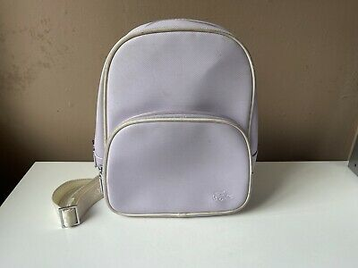 £15 • Buy LACOSTE Ladies Lilac Small Bag Backpack