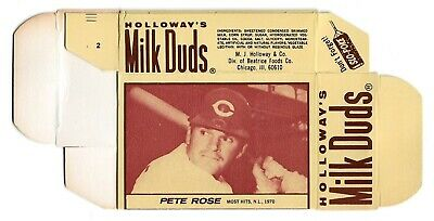 $50 • Buy Pete Rose   1971  Milk Duds Complete Box   Rare & Awesome