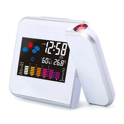£14.99 • Buy Digital Projection Wall Screen Alarm Clock Snooze Calendar Thermometer Weather