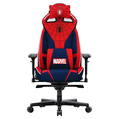 AU800.95 • Buy AndaSeat Marvel Spider-Man Edition Gaming Chair NEW PREORDER Sep 2021