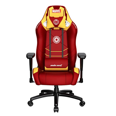 AU689.95 • Buy AndaSeat Marvel Iron-Man Edition Gaming Chair NEW PREORDER Sep 2021