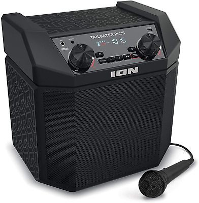 AU273.44 • Buy ION Audio Tailgater Plus - 50W Portable Outdoor Wireless Bluetooth Speaker With