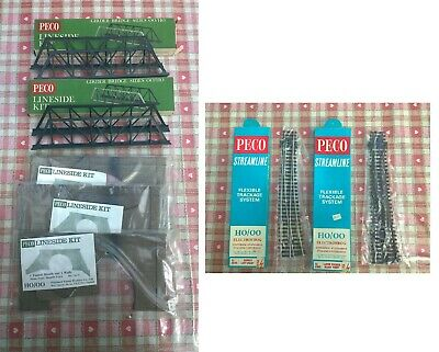 £0.99 • Buy Peco Model Railway Boxed Track 2 Pieces Lineside Kits All Included