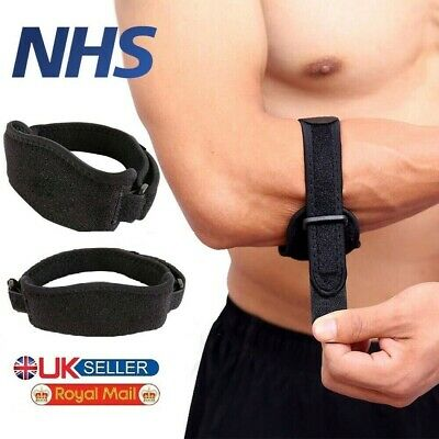 £3.99 • Buy Tennis Elbow Support Strap Brace Band For Gym Sport Golfers Pain Epicondylitis