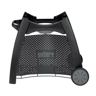 $ CDN185.04 • Buy Weber Gas Grill Rolling Cart Q 2000 Grilling Outdoor Cooking Bbq Accessory Black