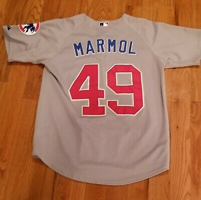 $20 • Buy Carlos Marmol - Chicago Cubs Authentic Jersey - Majestic Athletic