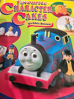 £1 • Buy Favourite Character Cakes By Brown, Debbie Book