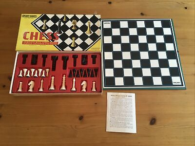 £0.99 • Buy Chess Board Game 1974 Spears 100% Complete With Instructions Boxed Vintage