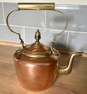 £8.50 • Buy Vintage Small Copper & Brass Kettle