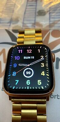 $ CDN162.72 • Buy Apple Watch Series 5 44mm Gold With Brand New Pink Sands Strap & Extras! L@@k