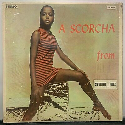 £8 • Buy  A Scorcha From Studio One  1977 Coxsone Various Artists Collection Jamaica LP