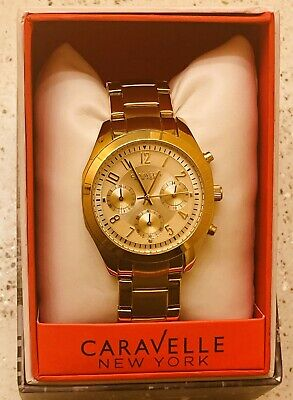 $19.99 • Buy Caravelle Mens Chronograph - New In Box