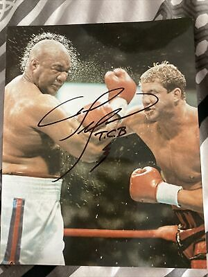 £21.99 • Buy Signed Tommy Morrison Boxing Photo Rocky 8 X 10
