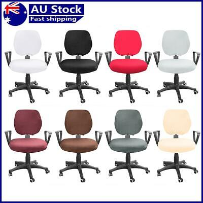 AU13.36 • Buy Spandex Stretch Computer Chair Cover Elastic Home Office Chairs Seat Case