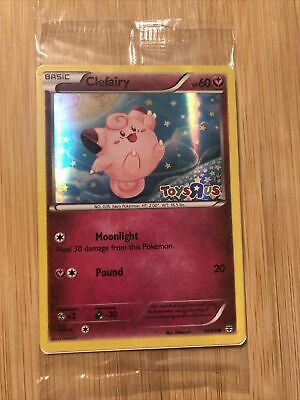 $4 • Buy Clefairy 50/83 Toys R Us Stamped Promo Pokemon XY Generations 2016 SEALED