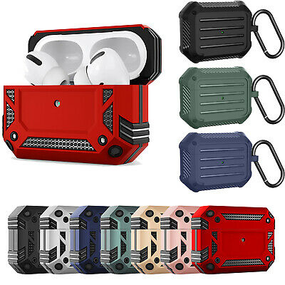 AU7.49 • Buy For Apple Airpods 1/2/3 Pro Heavy Duty Rugged Armour Case Shockproof Skin Cover