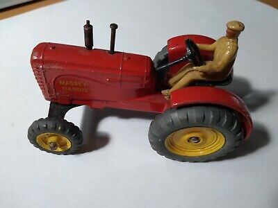 AU45 • Buy Dinky Toys Massey Harris Tractor 27A.