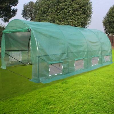 £149.95 • Buy Galvanised Steel Frame Polytunnel Greenhouse Pollytunnel Poly Tunnel 6 X 3 X 2M