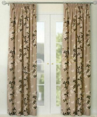 £32 • Buy  B&Q FULLY LINED CURTAINS 66  X 90  3  TAPE TOP PENCIL PLEAT