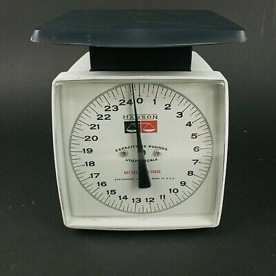 £14.31 • Buy Vintage Hanson 25 # Lb Utility Kitchen Scale Weighting MADE IN U.S.A.