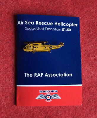 £2.50 • Buy The RAF Association -AIR SEA RESCUE HELICOPTER Enamel Pin Badge **FREE POST**