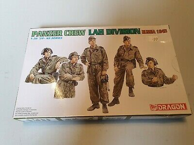 £10 • Buy DRAGON 1/35 Scale Panzer Crew LAH Division Russia 1943 WWII German Kit #6214