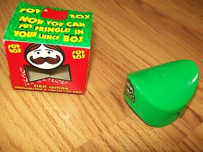 £3 • Buy Vintage First Edition Pringles Pop Box In Box Never Been Used