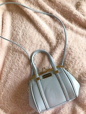 AU15 • Buy Forever New Baby Blue Mini Bag With Crossbody Strap