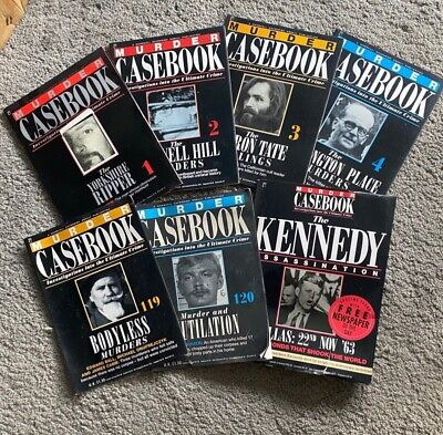 £9.50 • Buy Murder Casebook Magazines. 120 Editions Plus Special Kennedy Assassination