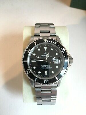 $ CDN14974.08 • Buy Rolex Submariner Date - 16610 - Box+Papers+Receipts. 1995 Model.