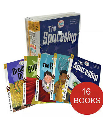 £7.30 • Buy Biff, Chip And Kipper Stage 2 Read With Oxford: 4+: 16 Books Collection Set Pack