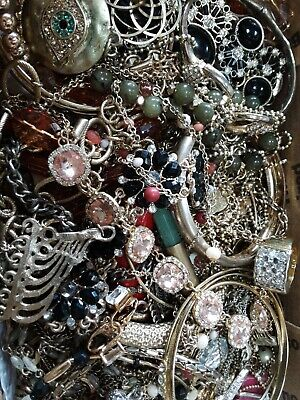 $ CDN20.51 • Buy #3 Vintage To Now Estate Find Jewelry Lot Junk Drawer Lb Untested Wear