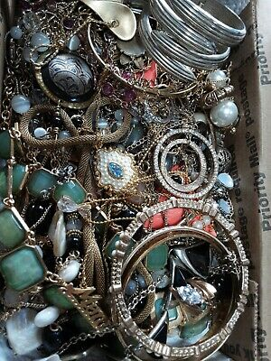 $ CDN18.88 • Buy #4 Vintage To Now Estate Find Jewelry Lot Junk Drawer Lb Untested Wear