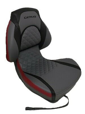 $ CDN251.71 • Buy Attwood Centric X Tour Folding Boat Seat For Caymas Boats Black/Grey/Burnt Red