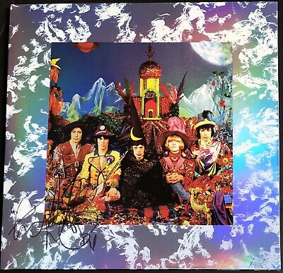 £99.99 • Buy Signed Charlie Watts The Rolling Stones Their Satanic Majesties Request Vinyl
