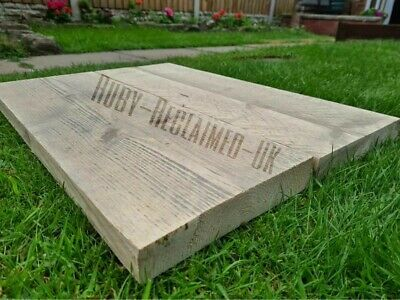 £6 • Buy Rustic Scaffold Boards Reclaimed Old Aged Weathered Shelves 2FT Lengths