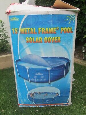 £6.99 • Buy 15ft Solar Pool Cover Good Used Condition