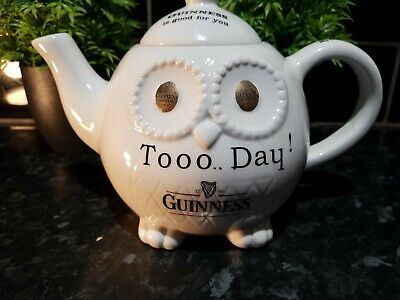 £5 • Buy Guinness Owe Tea Pot , Guinness Collectables , Superb Condition , Carlton Ware