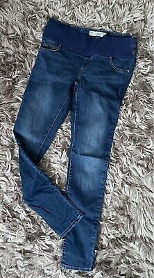 £6.50 • Buy Topshop Moto Maternity Leigh Under Bump Skinny Jeans Size 8 L32