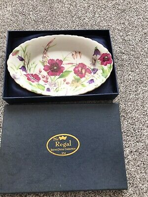 £2.80 • Buy The Regal Bone China Collection, Dish In Box, Vgc!!