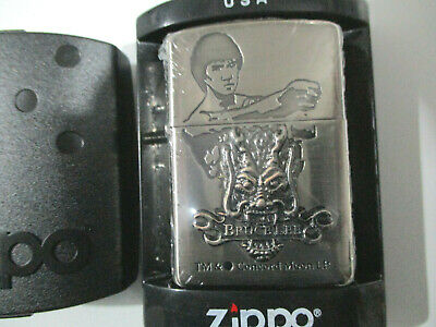 AU49 • Buy Zippo Lighter - Bruce Lee With Raised Emblem - Rare - New In Case - Rare