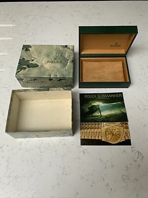 $ CDN285.63 • Buy Vintage Rolex Box 68.00.02 Submariner 16610 With Oyster Booklets