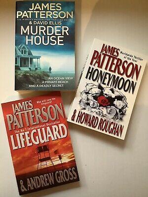 AU27.45 • Buy 3 X BOOKS By JAMES PATTERSON FREE POSTAGE