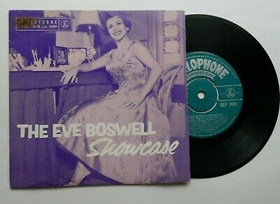 £19.99 • Buy Eve Boswell Ep ' Showcase ' 1958 Parlophone P/s Excellent !