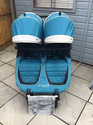 £345 • Buy Baby Jogger City Mini Gt Double Pushchair