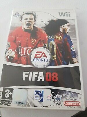£4.99 • Buy FIFA 08 (Nintendo Wii, 2007) - Complete With Manual
