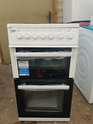 £130 • Buy Beko EDP503 Electric Cooker With Solid Plates 50cm