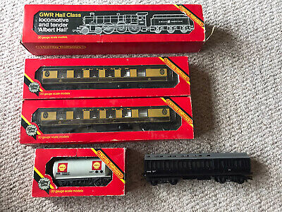 £50 • Buy Vintage Hornby Collection 00 Gauge Albert Hall Pullman Coaches And Shell Tanker